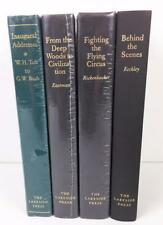 Lot 4 Books The Lakeside Press 3 NEW Deep Woods Flying Circus Inaugural Address