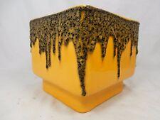 """70´s  WGP design FOHR Keramik """" Fat Lava  """" pottery  vase 906 -16  rare shape"""