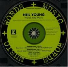 CD SINGLE COLLECTOR NEIL YOUNG WORDS AND MUSIC HDCD USA 2000  Reprise Records