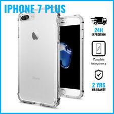 Transparent Cas Clear Flexible Gel Case Bumper Etui Coque Hoesje iPhone 7 Plus