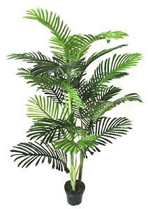 Large Artificial Plant  Three Trunk Palm Tree 154cm High,Faux Plant Fake, No Pot