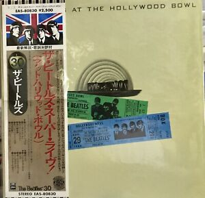 THE BEATLES LIVE AT HOLLYWOOD BOWL LP JAPANESE PRESS WITH OBI