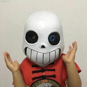 Kid Adult Night-luminous Halloween Undertale Sans Cosplay Full Face Mask