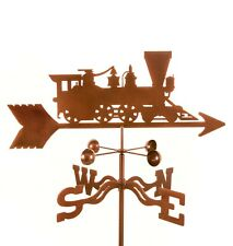 Train - Locomotive Weathervane, Steam Engine Weather Vane with Choice of Mount