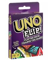 UNO FLIP Card Game 112 CARD Party Game Great Family Fun UK Seller FAST FREE POST