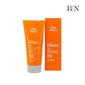 Wella Creatine+ STRAIGHT (H) Hair Straightening Cream 200ml (GENUINE PRODUCT)