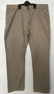 Men's Gap Lived In Slim Khakis Beige Chinos Size W34 L32