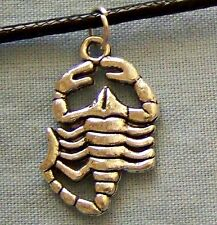 TIBETAN_SILVER  ~~  SCORPION  ~~  NECKLACE  --- (GREAT_CHRISTMAS_GIFT)