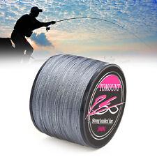 1000M 100LB Braided Fishing Line Ligne de Pêche Tressée Dyneema 4 Brins Spectra