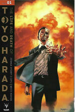 LIFE & AND DEATH OF TOYO HARADA #1 GOLD VARIANT VALIANT ENTERTAINMENT COMICS