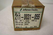JEFFERSON 211-0031-055 TRANSFORMER .150 KVA