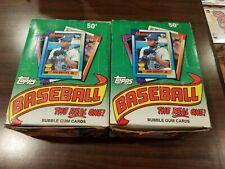 TOPPS 1990 BASEBALL CARD WAX PACKS - 2 Boxes! - Griffey!