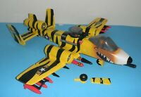Lot 1988 GI Joe Tiger Force Tiger Rat Jet Plane Rattler v2 *Near Complete *READ*