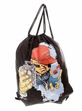 *** Ecko Boys Girls School PE Bag Mens Gym Swim Bag Drawstring Shoulder Bag ***