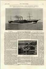 1897 voluntarios de la flota rusa Arellano KhersГіn Corliss Válvula Gear