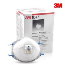 3M 8577 P95 OV Respirator W/Valve 10/Box  **Free US Shipping**