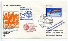 FFC 1978 Lufthansa Special Flight Calcio Football Argentina Buenos Aires