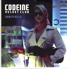(CB318) Codeine Velvet Club, Vanity Kills - 2009 DJ CD