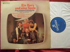 Ein Herz und eine Seele - Eine schwere Erkrankung  Ekel Alfred  rare EMI  LP