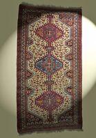 Feiner Orientteppich 100% Wolle! Oriental rug Tapis Tappeto 185x99cm bunt carpet