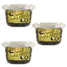 3 Pk. TRADER JOE'S Chocolate Coconut Almonds (12 oz. ea)  ***FREE SHIPPING***