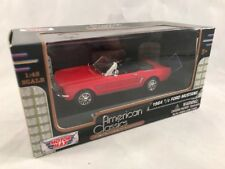 Motor Max American Classics 1964 1/2 FORD MUSTANG (red) 2013 1:43 scale MIB