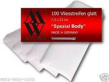 Vliesstreifen glatt Profi Qualität Made in Germany für Wachs Haarentfernung