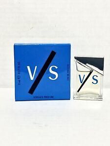V/S VERSUS by VERSACE for Men 5ml-0.17oz EDT Mini Size Splash DISCONTINUED (