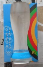Coca- Cola 2012 Olympic Games Glass & Wristband Blue McDonald's Promotion