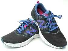 New Balance Women's Size 9 Cush 711 Gray Blue Training Running Sneakers Shoes