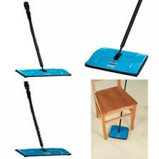 BISSELL Sturdy Sweep Floor Cleaner Blue Sturdy Brush Sweeper Carpet Rug