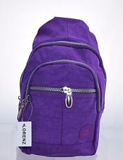 Ladies Women Crinkled Small Soft Lorenz backpack Rucksack Shoulder bag Style