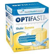 Optifast Shake Banana Sachets 54gx12 Cincotta Chemist
