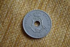 1908 BELGIO 25 CES ~ CENTESIMI MEDAGLIA..