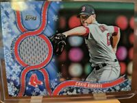2018 Topps Holiday Craig Kimbrel Jersey Relic Boston Red Sox Game Used