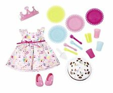 Zapf Creation Baby Born Deluxe Party Set Outfit & Accessories Playset