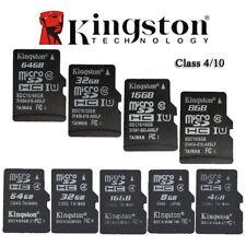 Kingston Micro SD TF Memory Card 4GB 8GB 16GB 32GB SDHC Class 10 / C4 for Phone