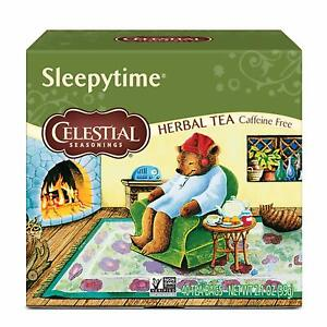 CELESTIAL SEASONING HERBAL TEA SLEEPYTIME 40 TEA BAGS  06/13/2021