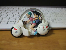 Dragon Ball Z Bulma & Goku bike Figure used japan Junk