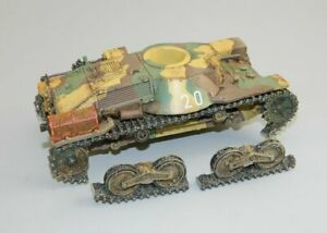 PARTIAL JN040 Type 95 'Ha-Go' Light Tank (DAMAGED) by King & Country Models