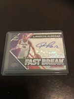 Donruss Optic Lamarcus Aldridge Auto Spurs Refractor