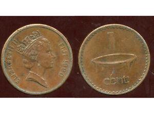 FIDJI   1 cent 1990