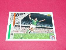 JOHN ALDRIDGE IRELAND EIRE FIFA WC FOOTBALL CARD UPPER USA 94 PANINI 1994 WM94