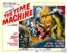 THE TIME MACHINE LOBBY TITLE CARD POSTER 1960 ROD TAYLOR ALAN YOUNG