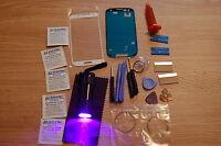 Samsung Galaxy S3 i9300 White Front Glass, Screen Repair Kit, Loca Glue, Torch