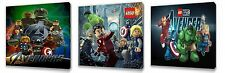Lego Avengers  set of Three Wall / Plaques canvas pictures