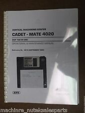 Okuma Cadet-Mate 4020 Osp 700 M Cnc_0012_Operational & Maintenance Manual