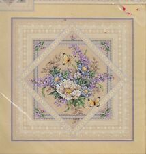 Dimensions FLOWERS AND LACE Counted  XStitch Kit, Mpn 35105,Sealed,Sandy Orton