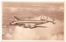 Postcard Lockheed Constellation Air France Airplane~104482