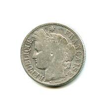 2 francs argent Cérès 1872 K n°E1205